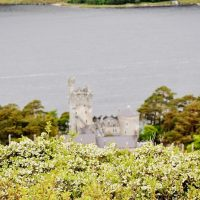 Glenveagh Castle from the hill