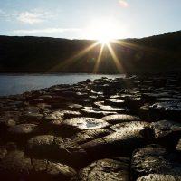 Giant's Causeway at sunrise