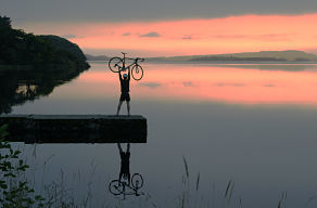 Lough Gill Sligo cycling - Biking trips