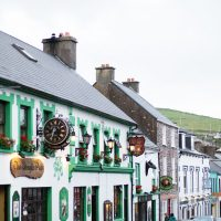 Dingle Town along the Dingle Way