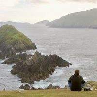 Slea Head, Ireland's westernmost point on the Dingle Way