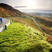 Donegal bike twisting road
