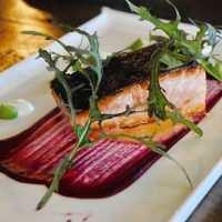 Donegal salmon seafood