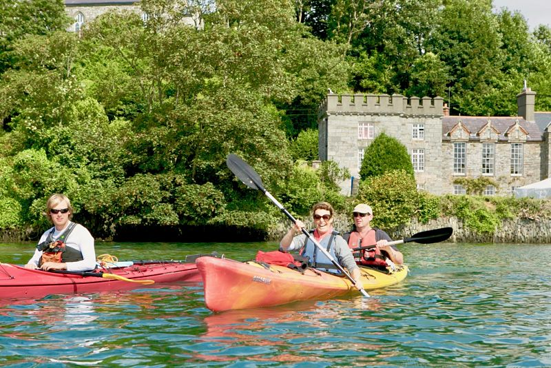 kayaking Ireland Clare Island family travel activities