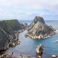 Malin head rocks Donegal