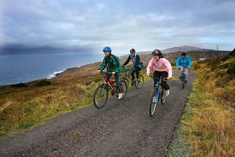 Family Travel Experiences in Ireland great western greenway