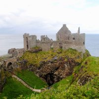 Dunluce Castle, Narnia inspiration!