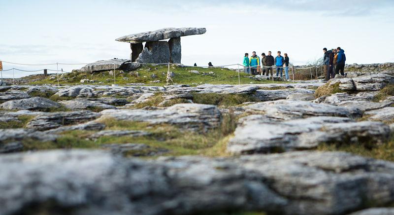 Burren National Park hiking - avoid tourism crowds in Ireland
