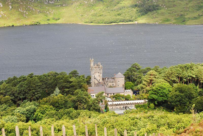 Glenveagh Castle - Glenveagh National Park - avoid tourism crowds in Ireland