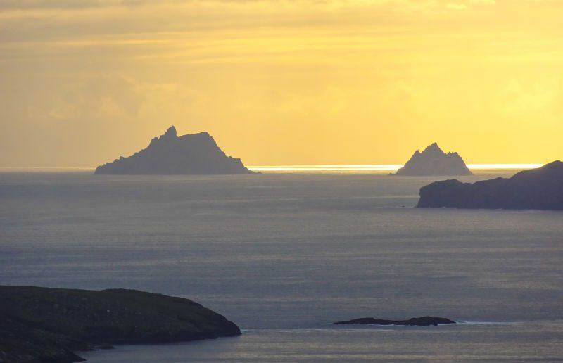 The Skellig Islands - Skellig Ring, Kerry - avoid tourism crowds in Ireland