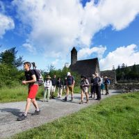 Exploring the ancient monastic city of Glendalough