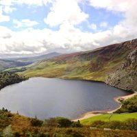 Lovely views over Lough Tay.