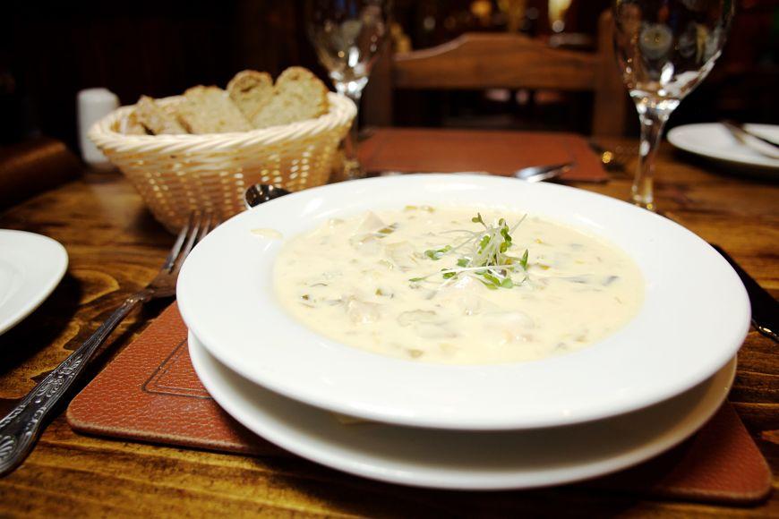 Ireland seafood chowder