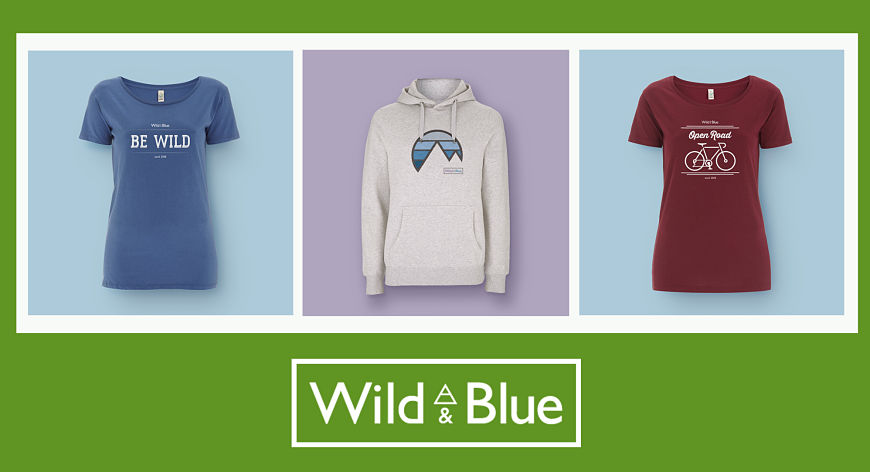 Wild and Blue clothes