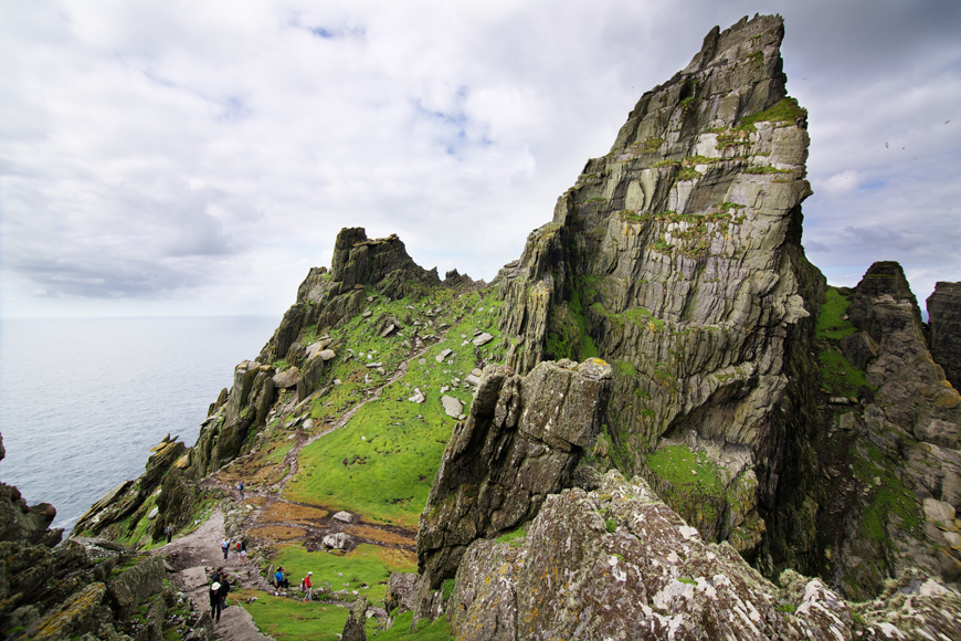 Skellig Islands hiking Kerry Ireland